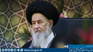 Photo of حضرتآیتالله العظمی علویگرگانی در دیدار اعضای دبیرخانه همایش بین المللی حضرت ابوطالب(ع):