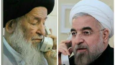 Photo of تماس تلفنی ریاست محترم جمهور جناب آقای روحانی با مرجع عالیقدر حضرت آیتالله العظمی علوی گرگانی