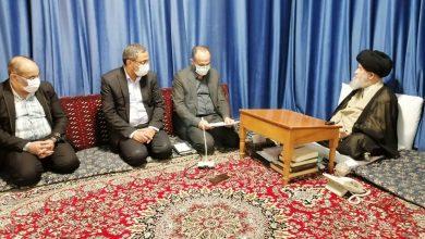 Photo of دیدار علی اصغر رنجبر مدیر کل زندان های استان قم با حضرت آیت الله العظمی علوی گرگانی مد ظله