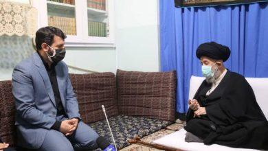 Photo of دیدار آقای عبدالملکی وزیر تعاون کار و رفاه اجتماعی با حضرت آیت الله العظمی علوی گرگانی مدظله